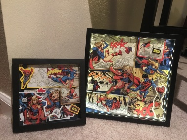 Superman vs. Supergirll - Set